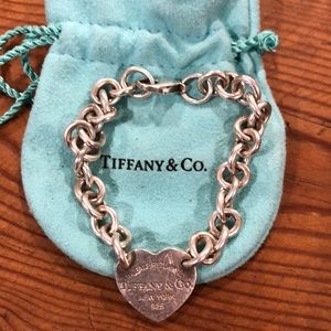 "Tiffany bracelet. 8"" long. 925 Sterling"